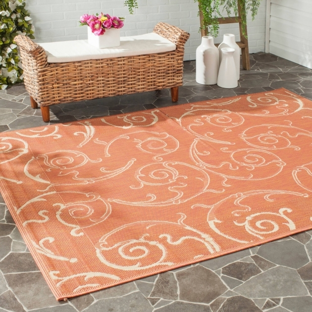 Plastic Outdoor Rugs Brown Or Orange Pictures 26