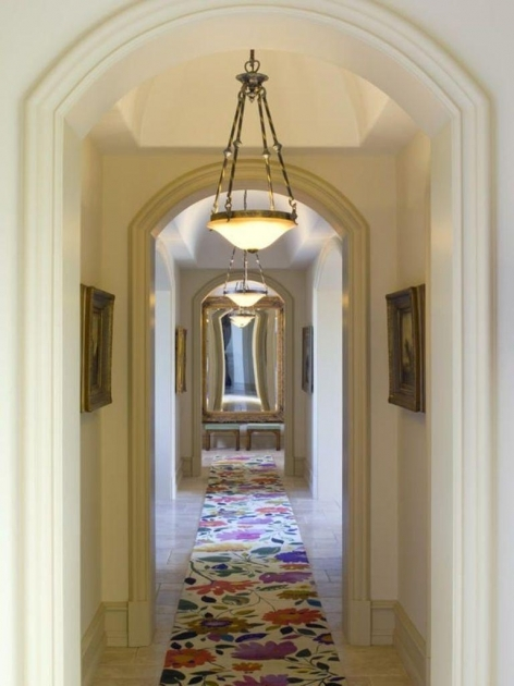 Rug Runners For Hallways Floral Modern Designs Photos 70