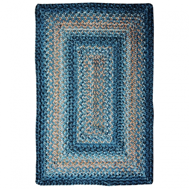 Blue Braided Rug Clearance Bora Bora Jute Braided Rugs Living Room Ideas Picture 25