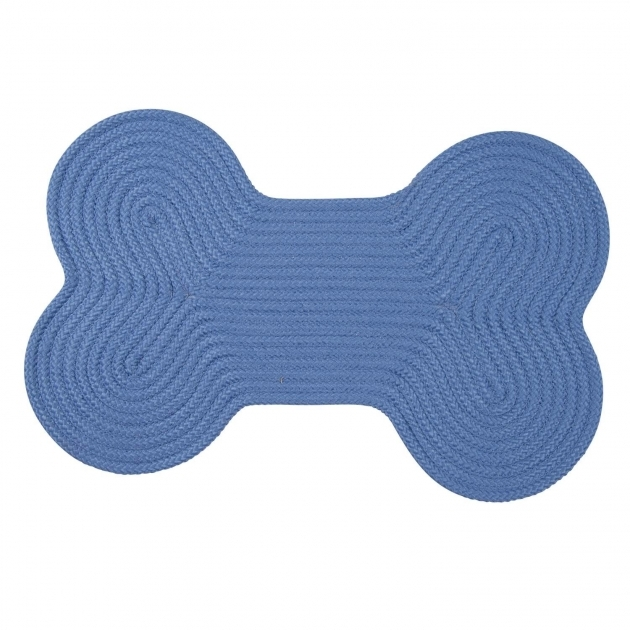 Blue Braided Rug Colonial Mills Dog Bone Solid H870 Blue Ice Rugs Image 64