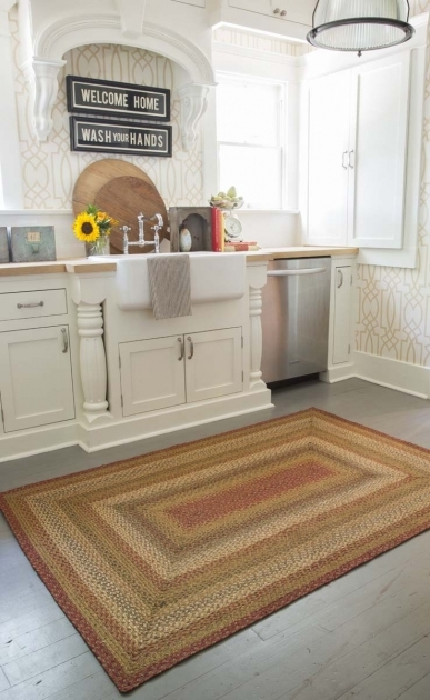 Braided Kitchen Rugs Design Ideas Images 52