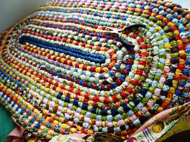 Braided Rag Rug How To Make Photos 67