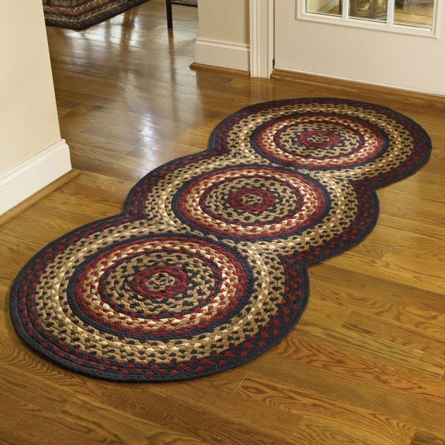 Braided Rug Runners PKD 394 437 Folk Art Image 50