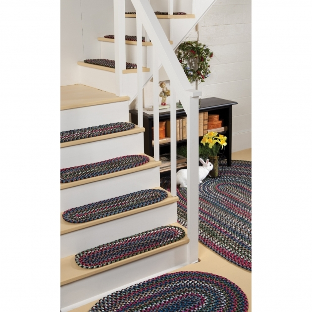 Braided Rug Stair Treads Old Orchard Braided Rug Collection Shot Photo 08