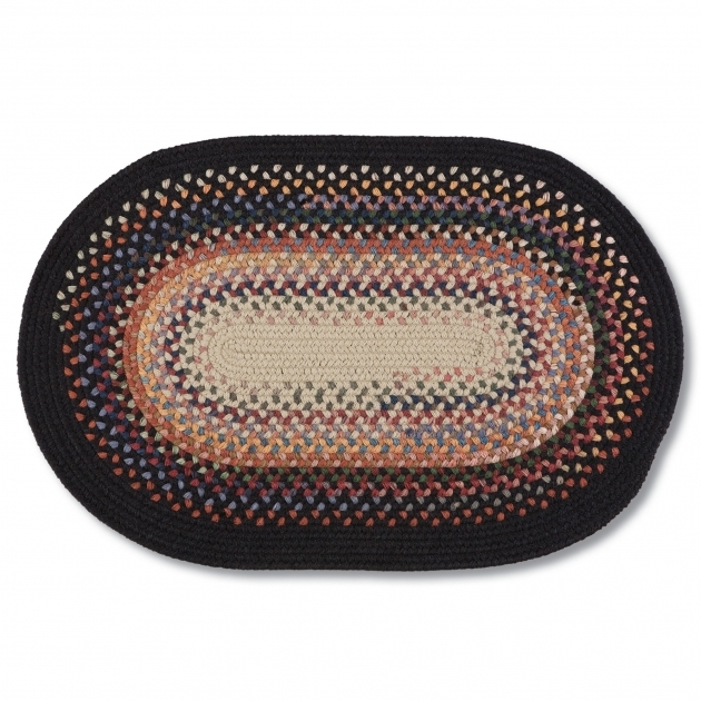 Braided Rugs Made In USA Wool Blend Black Photos 80