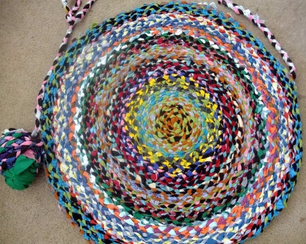 Braided Tshirt Rug Craft Images 85