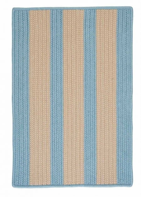 BT49 Light Blue Braided Rug Images 08