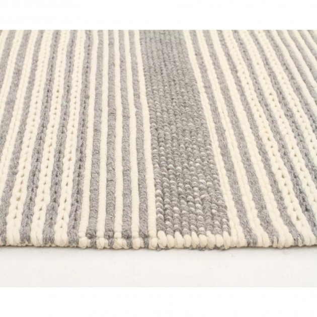 Chunky Braided Wool Rug Casellena Silver Pics 81