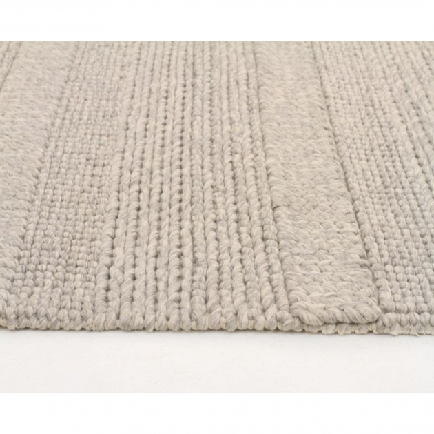 Chunky Braided Wool Rug Grey Felted Wool Floor Area Rug Photos 90