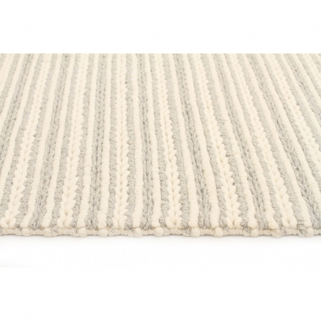 Chunky Braided Wool Rug Kelso Grey And Cream Pics 42