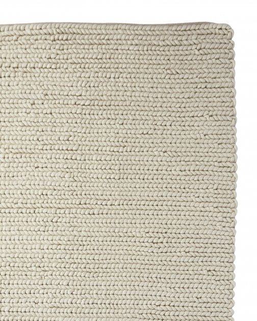 Chunky Braided Wool Rug Rug ChunkyWool Ivory 73440 Corner Ol Crop Photo 65