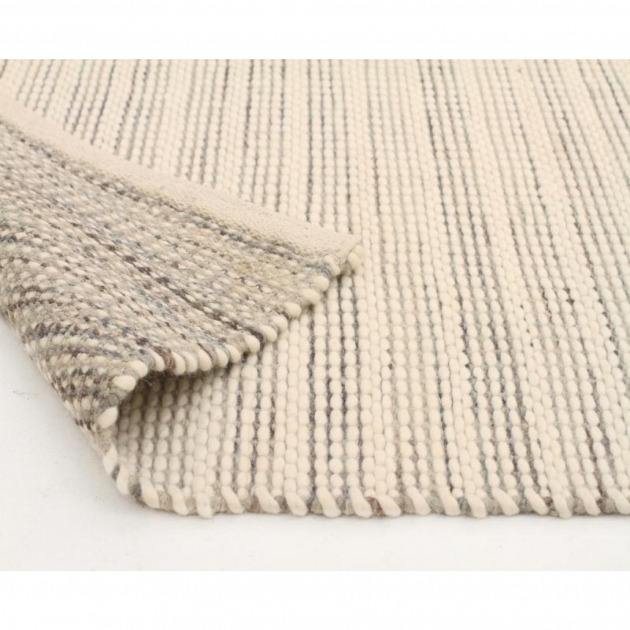 Chunky Braided Wool Rug Skan 315 Silver Picture 38