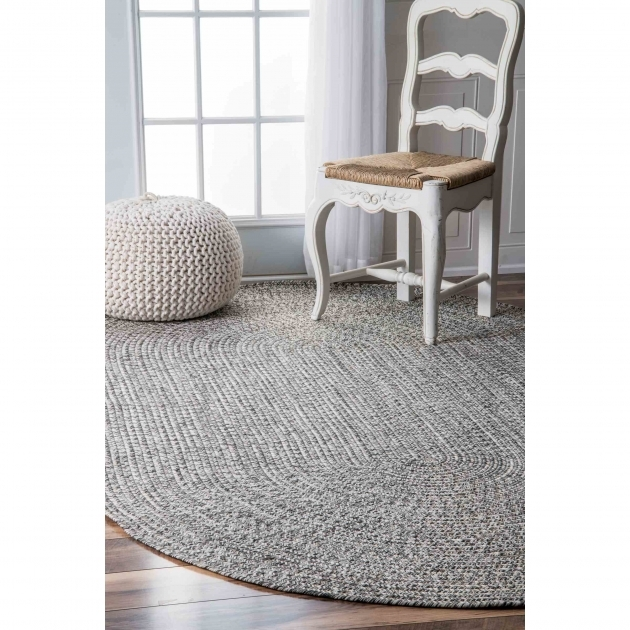 Gray Braided Rug Corrigan Studio Canton Gray Area Rug CSTD2733 Pics 94
