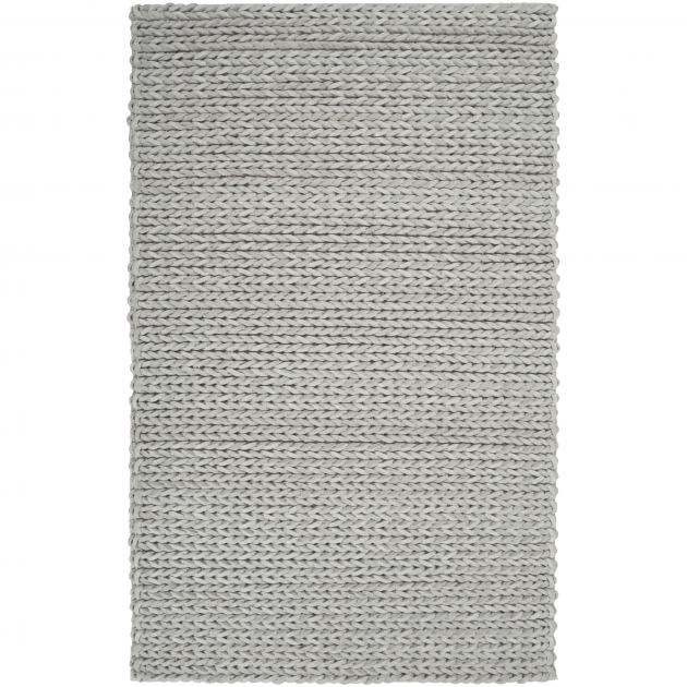 Gray Braided Rug Hand Woven Terni Braided Texture New Zealand Wool Rug 5 X 8 Pictures 67