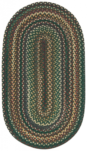 Green Braided Rug Bear Creek Hunter Capel Rugs Images 50