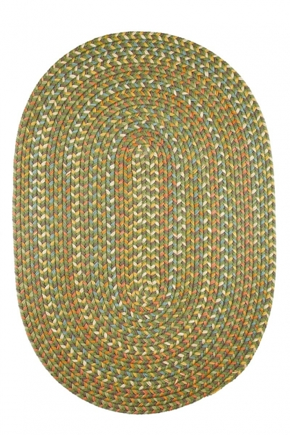 Green Braided Rug Cypress CY67 Olive Photos 19