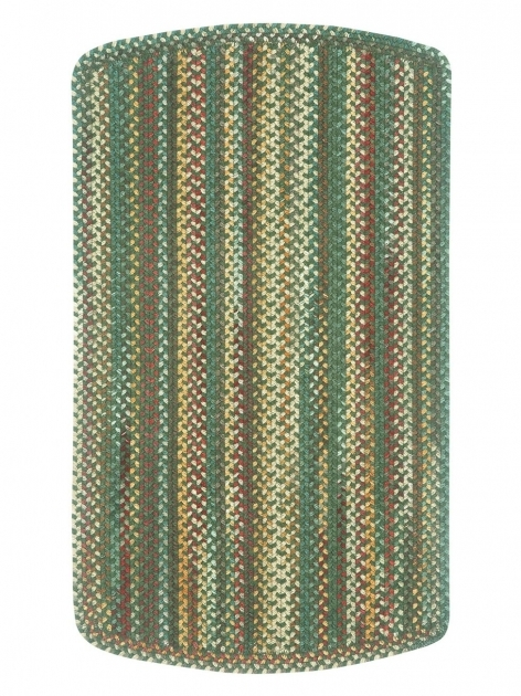 Green Braided Rug Dark Tailored  Photo 88