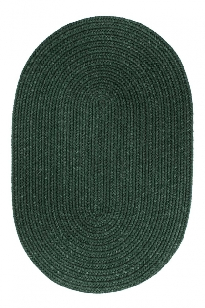 Green Braided Rug S105 Hunter Green Rug Image 90