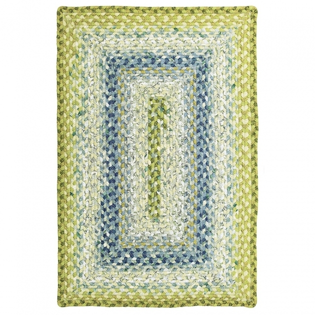 Green Braided Rug Seascape Cotton Braided Rugs Image 48