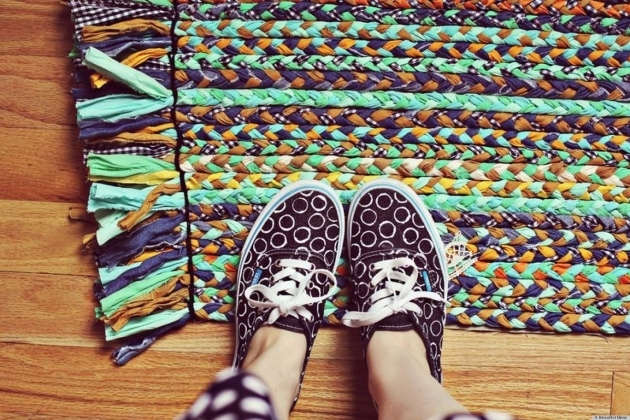 Making A Braided Rug Bright And Colorful Pics 85