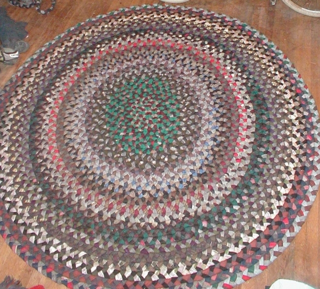 Making A Braided Rug Wool Living Room Ideas Pictures 08