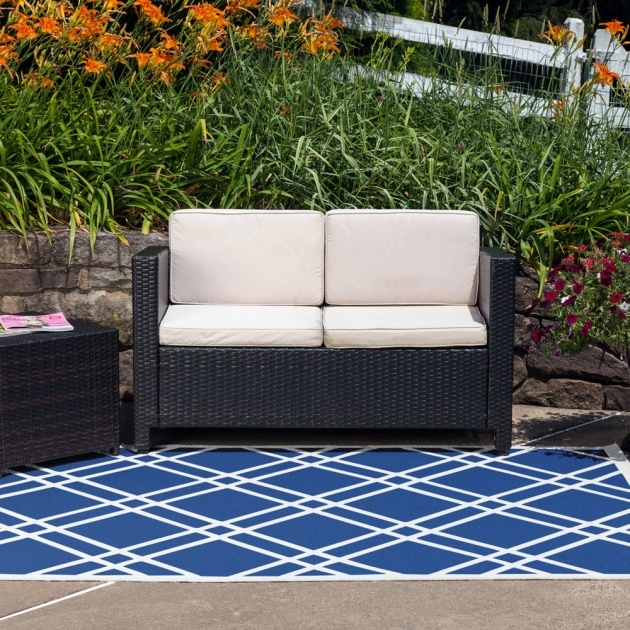 outdoor Area Rugs Lowes Maverick Royal Blue Pics 92