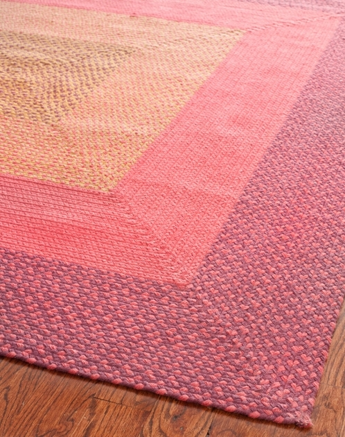 Pink Braided Rug Brd165a Braided Area Rugs Safavieh Pic 76