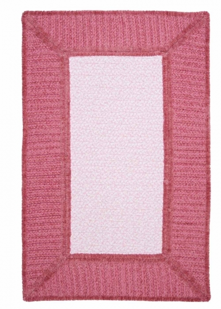 Pink Braided Rug Colonial Mills Gravel Bay Gm21 Soft Pink Rug Pics 74