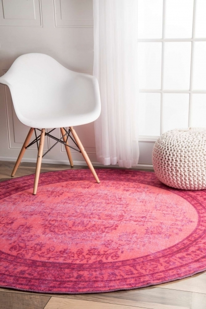 Pink Braided Rug In Many Styles Including Contemporary Ideas Pics 34