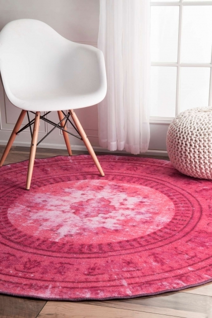 Pink Braided Rug Many Styles Including Contemporary Design Photo 58