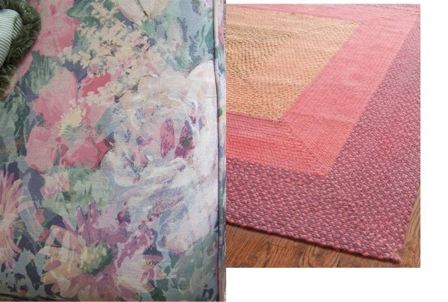 Pink Braided Rug Perennial Passion Image 49