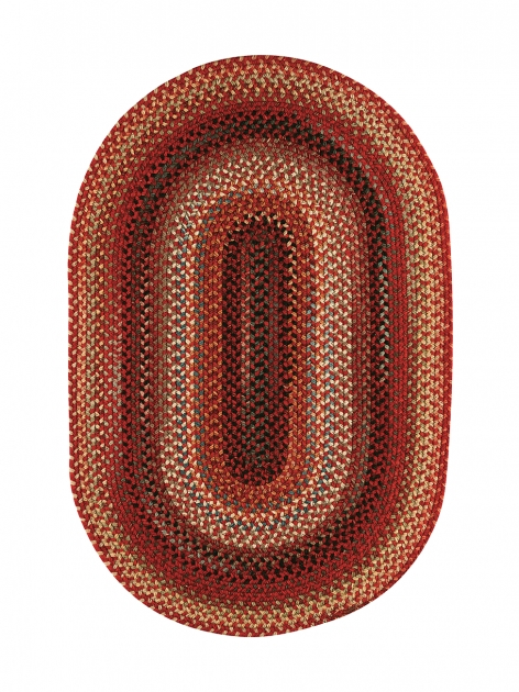 Portland Red Braided Rug Picture 53