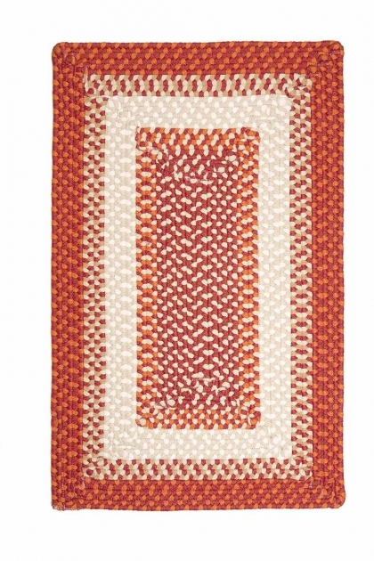 Red Braided Rug Colonial Mills Montego Mg79 Bonfire Picture 32