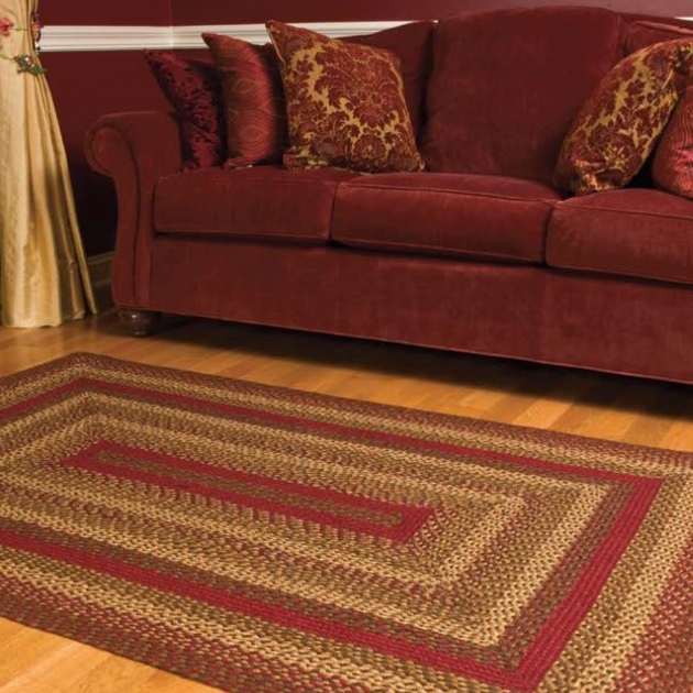 Red Braided Rug IHB 175 Cinnamon Braided Rug 1 LRG Photo 81