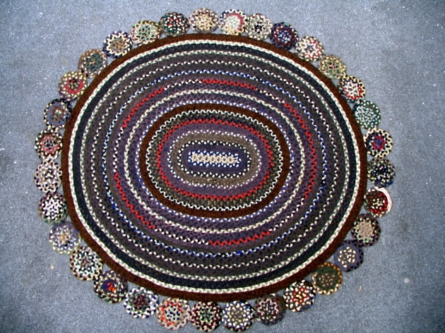 Stroud Braided Rugs Beautiful Round Multicolor Pics 41