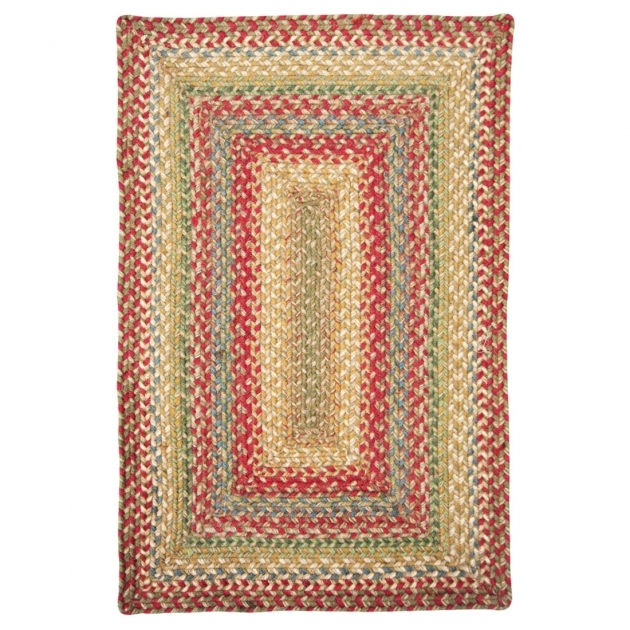 The Braided Rug Place Azalea Country Primitive Jute Braided Place Mat 20x30 Rectangle Pictures 80