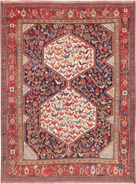 Antique Tribal Afshar Rug Types Of Persian Rugs Pictures 30