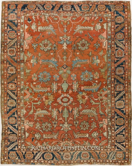 Bakhshaish Antique Persian Rugs For Sale Images 11