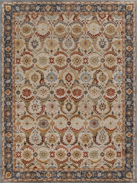 Beige Blue Cheap Persian Style Rugs Photo 41