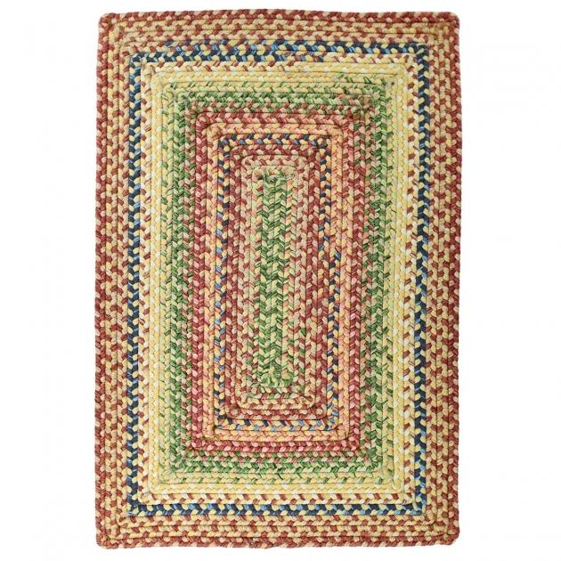 Braided Rugs 8x10 Rectangle Venetian Glass Ultra Durable Indoor Outdoor Stain Proof Braided Rugs Photo 09