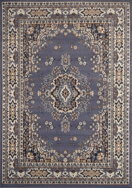 Cheap Persian Style Rugs Large Traditional 8x11 Oriental Area Rug Blue Large Image 43