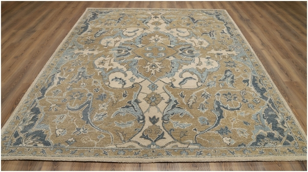 Cheap Persian Style Rugs Nolan Beige Wool Rug Photo 10