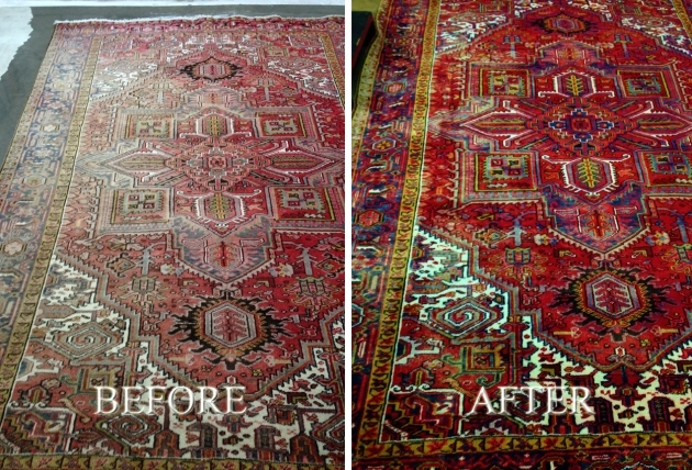 Cleaning Persian Rugs Insurance Rug Restoration  Picture 96