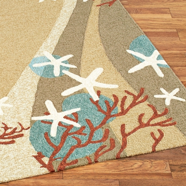 Coastal Rug Runners Coral Waves Indoor Outdoor Rugs Pictures 85