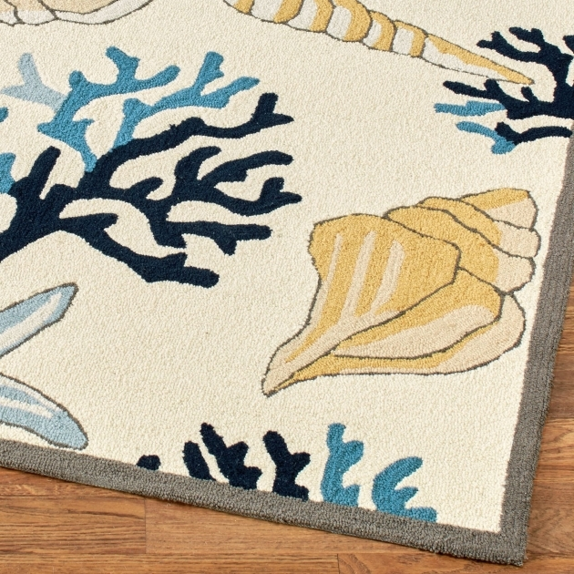 Coastal Rug Runners Seashore Treasures Area Rugs Pictures 03