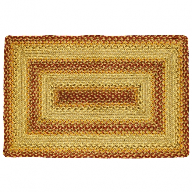 Cora Rectangle Braided Jute Rug 27x45 Pictures 05
