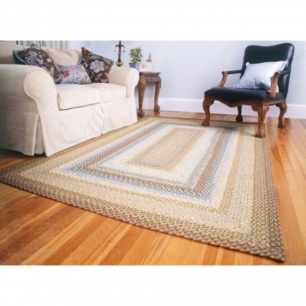 Cotton Cape Cod Rectangular Braided Rugs Image 16