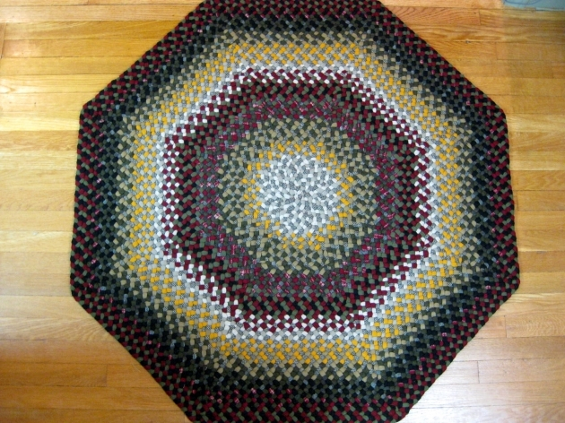 Country Braided Rugs Octagon Wool Rugs Photo 84