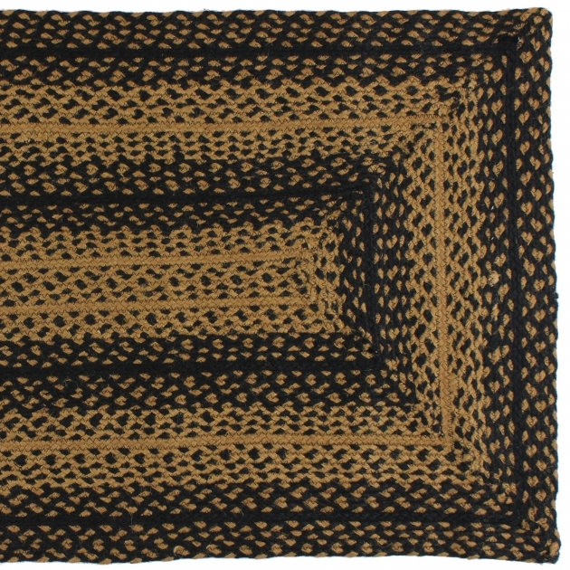 Ebony Rectangular Braided Rugs Swatch Photos 07