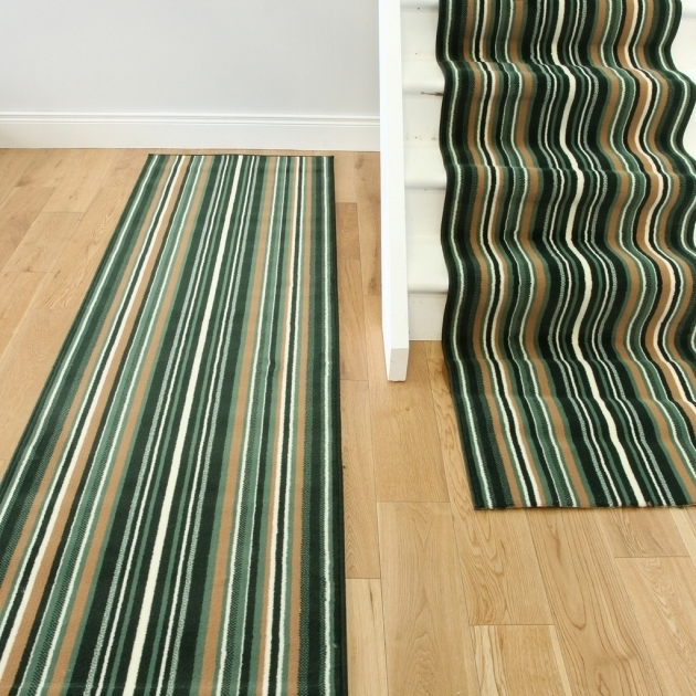 Extra Long Rug Runners Lima 459 Dark GREEN Stair Carpet Images 93